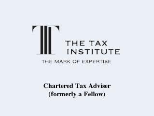 Tax Institute CTA